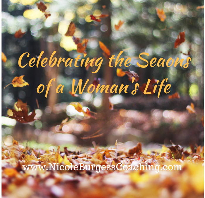 Nicole Burgess shares celebrating the seasons in a woman's life