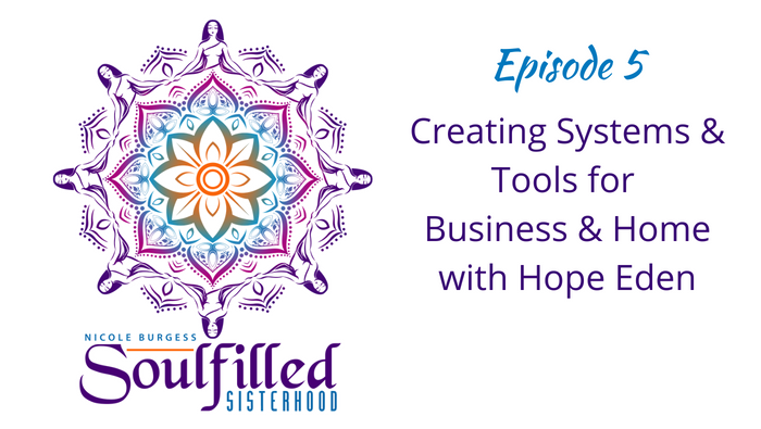Ep 5 Creating Systems and Tool for Business and Home Life