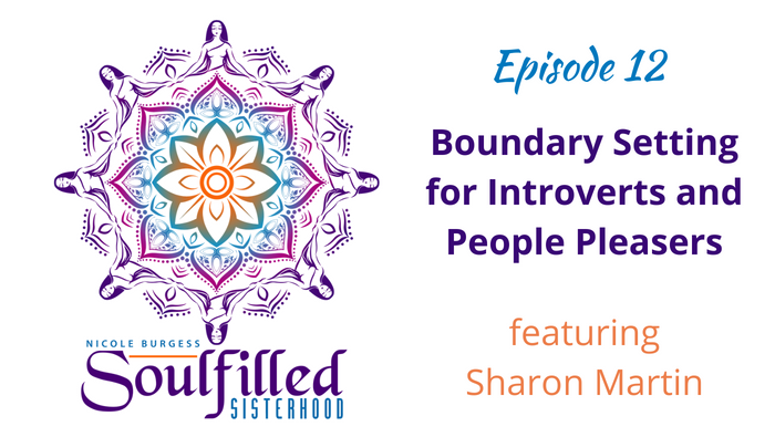 Sharon Martin shares tips on boundary setting for introverts and people pleasers