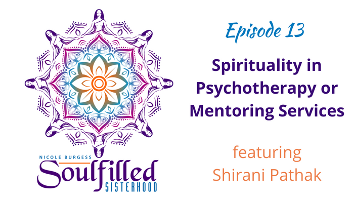 Shirani Pathak helps other psychotherapists and healers bring spirituality into their services