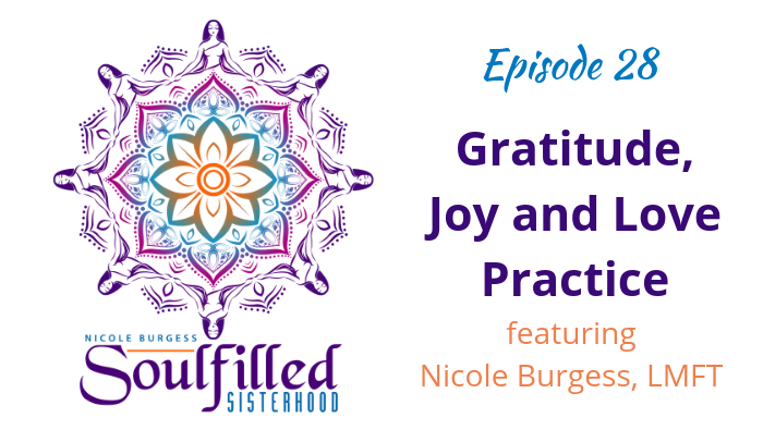 Building a gratitude practice to receive more abundance by Nicole Burgess