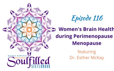 Ep 116: Women's Brain Health during Perimenopause and Menopause